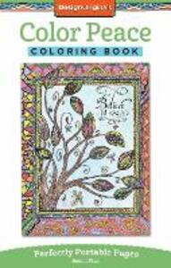 Color Peace Coloring Book - Joanne Fink - cover