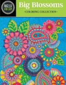 Hello Angel Big Blossoms Coloring Collection - Angelea Van Dam - cover