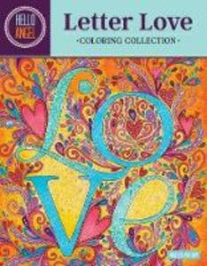 Hello Angel Letter Love Coloring Collection - Angelea Van Dam - cover