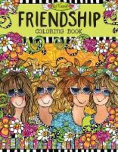 Friendship Coloring Book - Suzy Toronto - cover