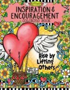 Inspiration & Encouragement Coloring Book - Suzy Toronto - cover