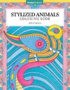 Stylized Animals Coloring Book - Debra Valencia - cover