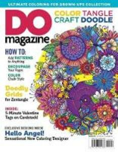 Color Tangle Craft Doodle #3 - Editors of DO Magazine - cover