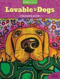 Lovable Dogs Coloring Book - Brenda Abdoyan - cover