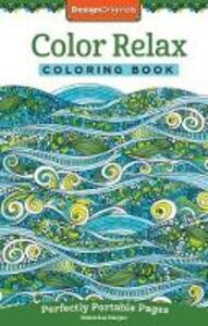 Color Relax Coloring Book - Valentina Harper - cover