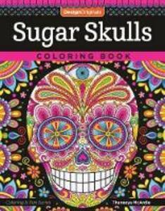 Sugar Skulls Coloring Book - Thaneeya McArdle - cover