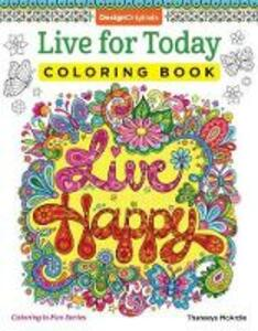 Live for Today Coloring Book - Thaneeya McArdle - cover