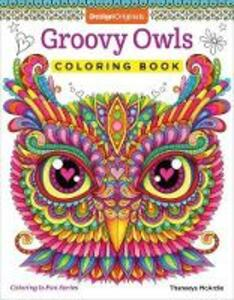 Groovy Owls Coloring Book - Thaneeya McArdle - cover