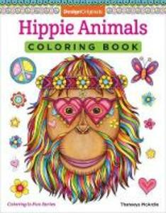 Hippie Animals Coloring Book - Thaneeya McArdle - cover