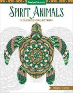 Spirit Animals Coloring Book - Filippo Cardu - cover