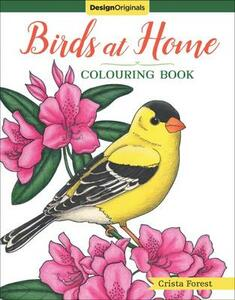 Birds at Home Coloring Book - Crista Forest - cover