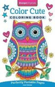 Color Cute Coloring Book: Perfectly Portable Pages - Jess Volinski - cover