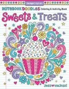 Notebook Doodles Sweets & Treats: Coloring & Activity Book - Jess Volinski - cover