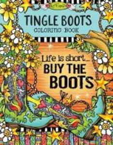 Tingle Boots Coloring Book - Suzy Toronto - cover