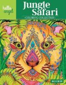 Hello Angel Jungle Safari Coloring Collection - Angelea van Dam - cover