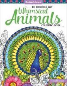 KC Doodle Art Whimsical Animals Coloring Book - Krisa Bousquet - cover