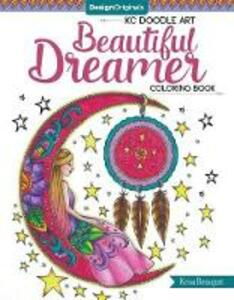 KC Doodle Art Beautiful Dreamer Coloring Book - Krisa Bousquet - cover