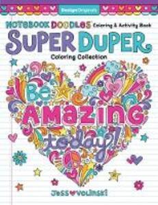Notebook Doodles Super Duper Coloring & Activity Book - Jess Volinski - cover