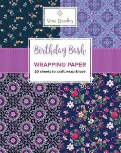 Vera Bradley Birthday Bash Wrapping Paper - Vera Bradley - cover