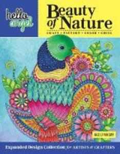 Hello Angel Beauty of Nature: Expanded Design Collection for Artists & Crafters - Craft, Pattern, Color, Chill - Angelea van Dam - cover