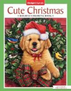 Cute Christmas Holiday Coloring Book - Jenny Newland,William Vanderdasson - cover