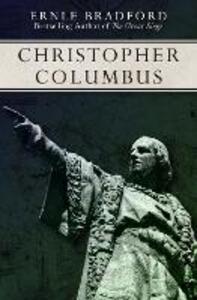 Christopher Columbus - Ernle Bradford - cover