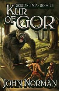 Kur of Gor - John Norman - cover