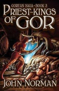 Priest-Kings of Gor - John Norman - cover