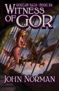 Witness of Gor - John Norman - cover