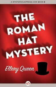 The Roman Hat Mystery - Ellery Queen - cover