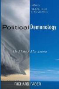 Political Demonology - Richard Faber - cover
