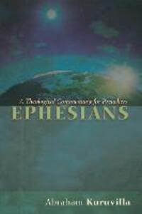 Ephesians - Abraham Kuruvilla - cover