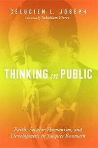 Thinking in Public - Celucien L Joseph - cover