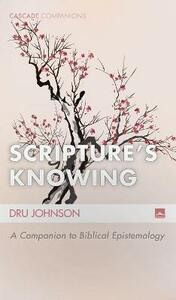 Scripture's Knowing - Dru Johnson - cover