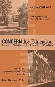 Concern for Education - cover