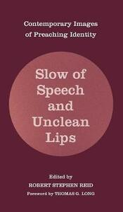Slow of Speech and Unclean Lips - cover