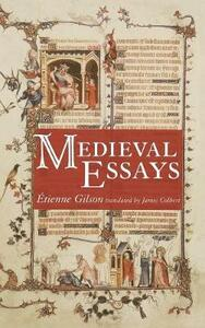Medieval Essays - Etienne Gilson - cover