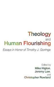 Theology and Human Flourishing - cover