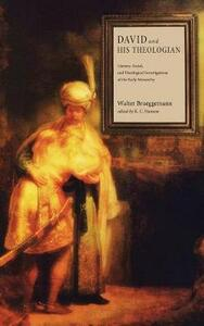 David and His Theologian - Walter Brueggemann - cover