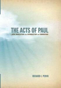 The Acts of Paul - Richard I Pervo - cover