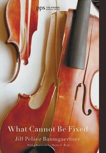 What Cannot Be Fixed - Jill Pelaez Baumgaertner - cover