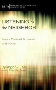 Listening to the Neighbor - Byungohk Lee - cover