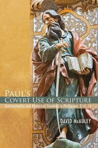 Paul's Covert Use of Scripture - David McAuley - cover