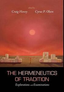The Hermeneutics of Tradition - cover