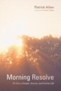 Morning Resolve - Patrick Allen - cover