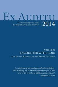 Ex Auditu - Volume 30 - cover