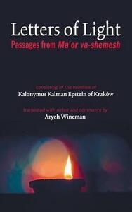 Letters of Light - Kalonymus Kalman Epstein,Aryeh Wineman - cover