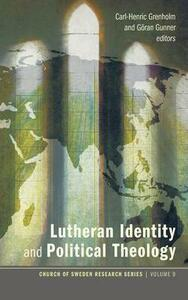 Lutheran Identity and Political Theology - cover