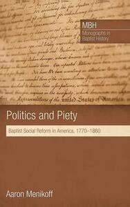 Politics and Piety - Aaron Menikoff - cover