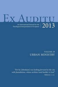 Ex Auditu - Volume 29 - cover